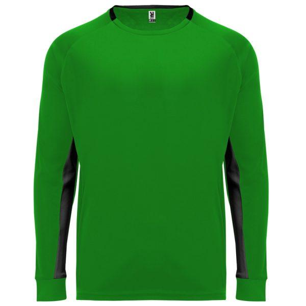 Camiseta Portero Porto Roly - Verde Helecho/Negro