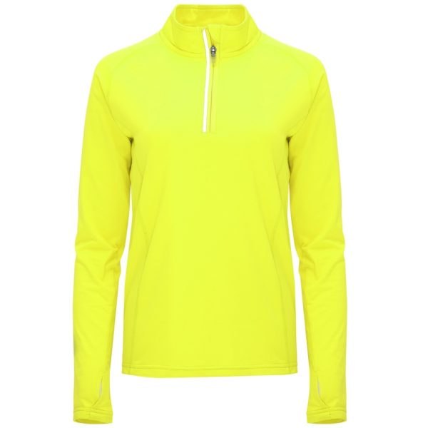 Camiseta Técnica Melbourne Woman Roly - Amarillo Fluor