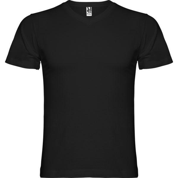 Camiseta Samoyedo Roly - Negro