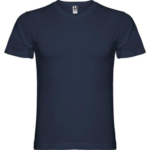 Camiseta Samoyedo Roly - Azul Marino