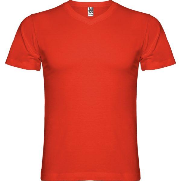 Camiseta Samoyedo Roly - Rojo
