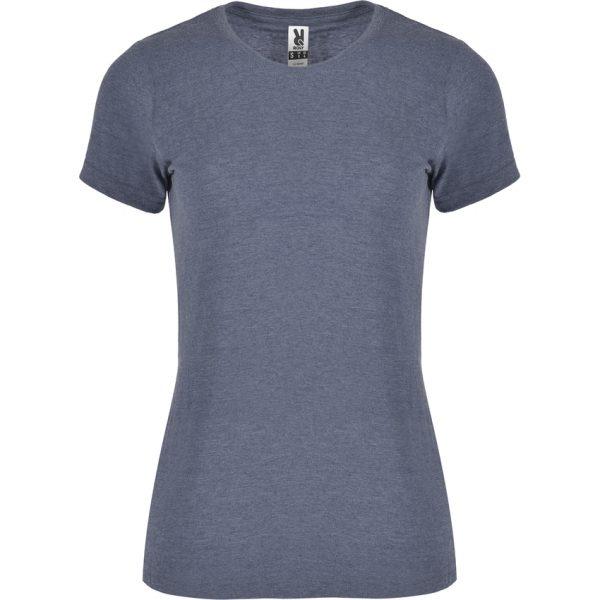 Camiseta Jaspeada Fox Woman Roly - Denim Vigoré