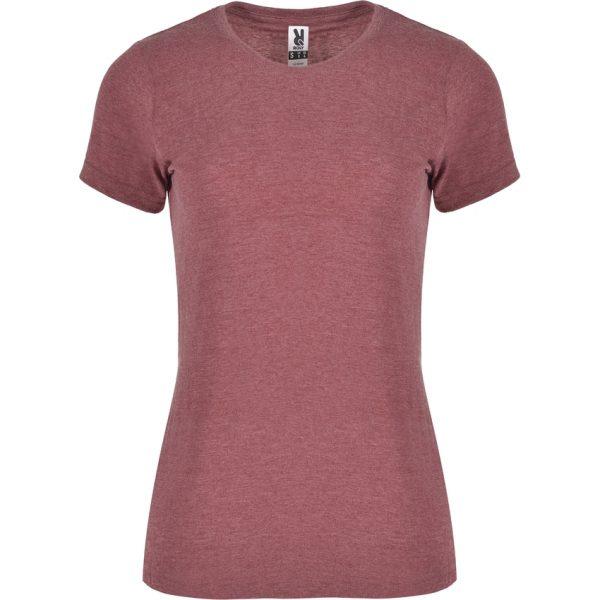 Camiseta Jaspeada Fox Woman Roly - Granate Vigoré