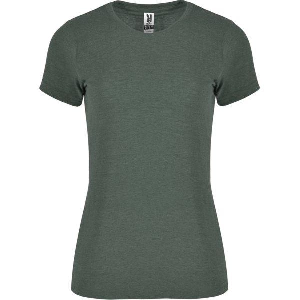 Camiseta Jaspeada Fox Woman Roly - Verde Botella Vigoré