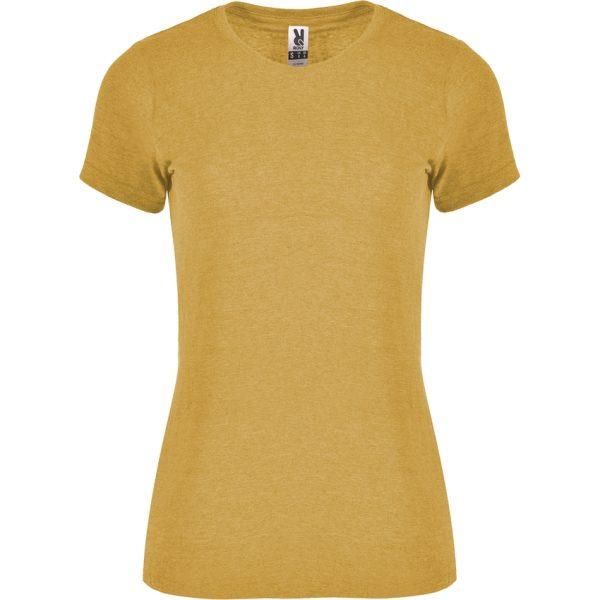 Camiseta Jaspeada Fox Woman Roly - Mostaza Vigoré
