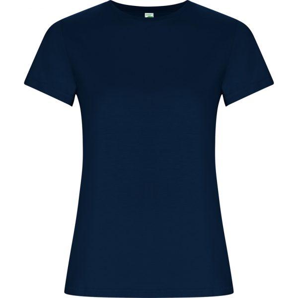 Camiseta Golden Woman Roly - Azul Marino