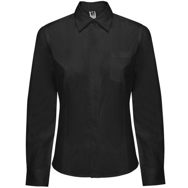 Camisa Manga Larga Sofia L/S Roly - Negro