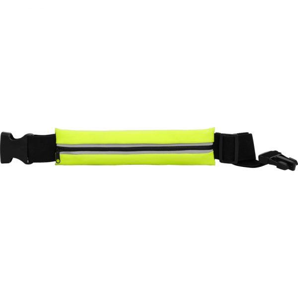 Cinturón Multiusos Marathon Roly - Amarillo Fluor/Negro