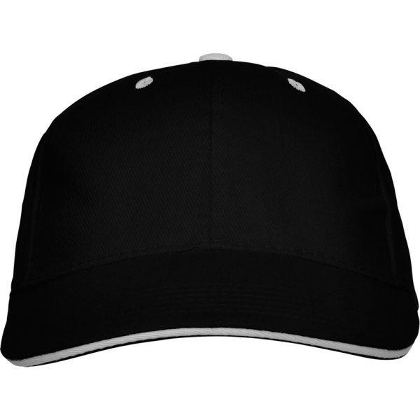 Gorra Panel Roly - Negro