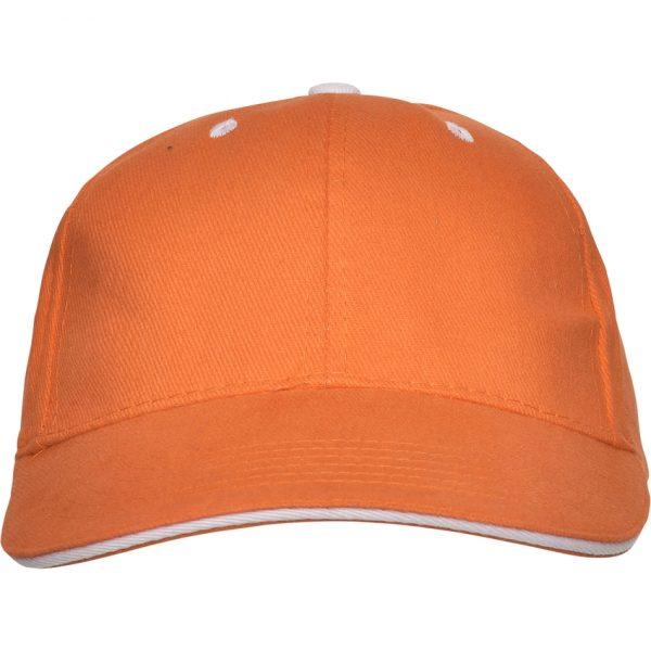 Gorra Panel Roly - Naranja