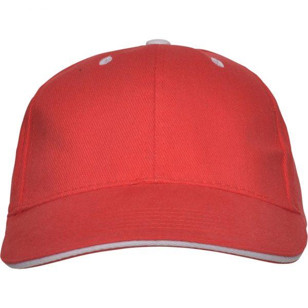 Gorra Panel Roly - Rojo