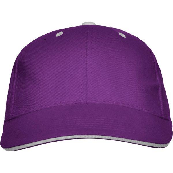 Gorra Panel Roly - Púrpura