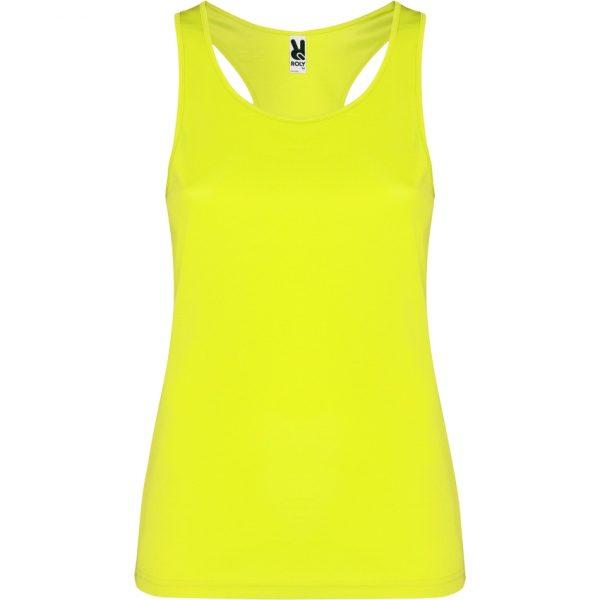 Camiseta Técnica Shura Roly - Amarillo Fluor