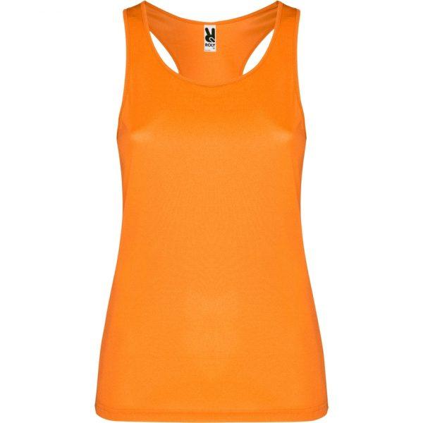 Camiseta Técnica Shura Roly - Naranja Fluor