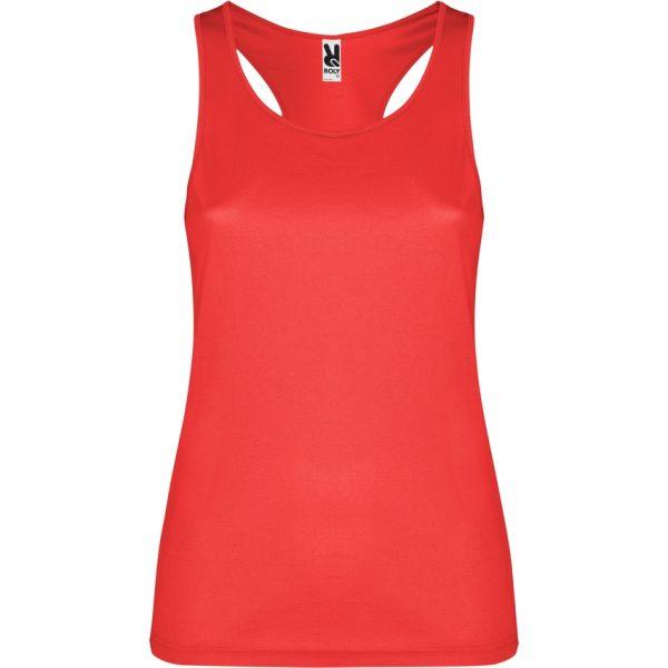 Camiseta Técnica Shura Roly - Rojo