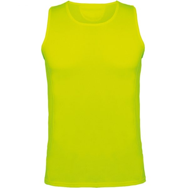Camiseta Técnica Andre Roly - Amarillo Fluor