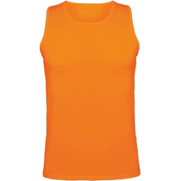 Camiseta Técnica Andre Roly - Naranja Fluor