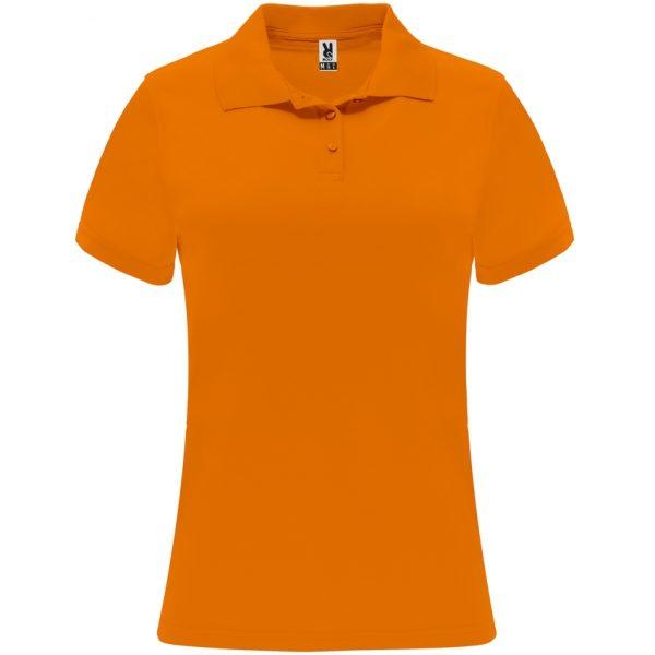 Polo Técnico Monzha Woman Roly - Naranja Fluor