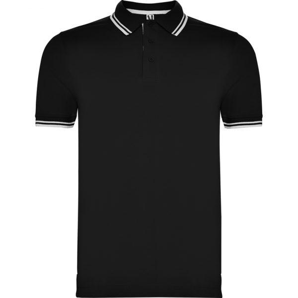 Polo Montreal Roly - Negro/Blanco