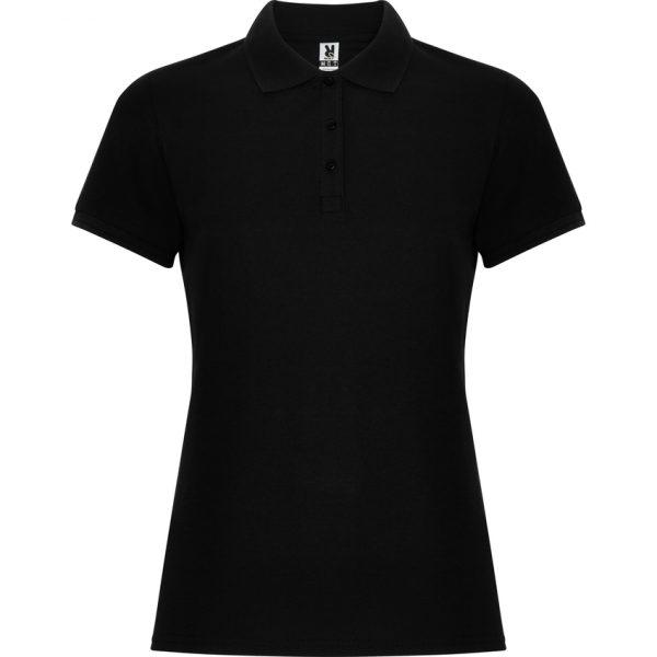 Polo Pegaso Woman Premium Roly - Negro