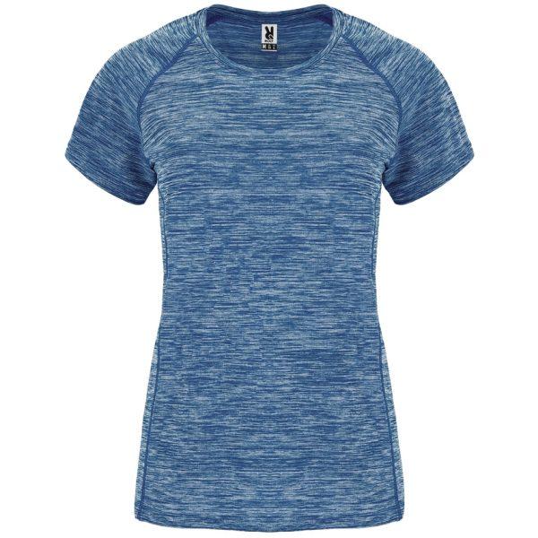 Camiseta Técnica Austin Woman Roly - Azul Marino Vigore