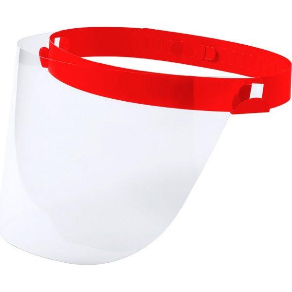 Pantalla Facial Niño Tundex Makito - Rojo
