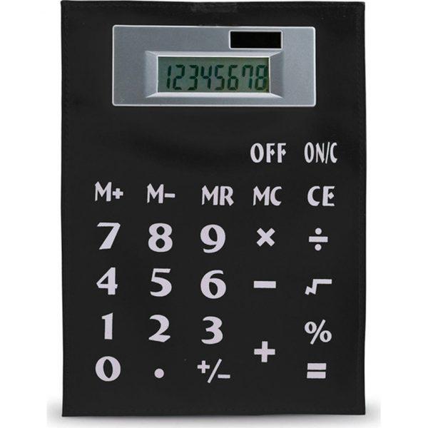 Calculadora Roll Up Makito - Negro