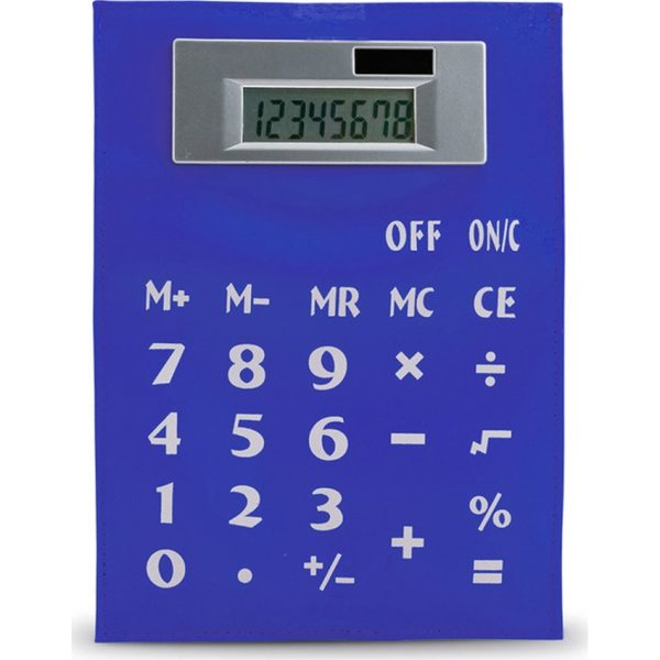 Calculadora Roll Up Makito - Azul