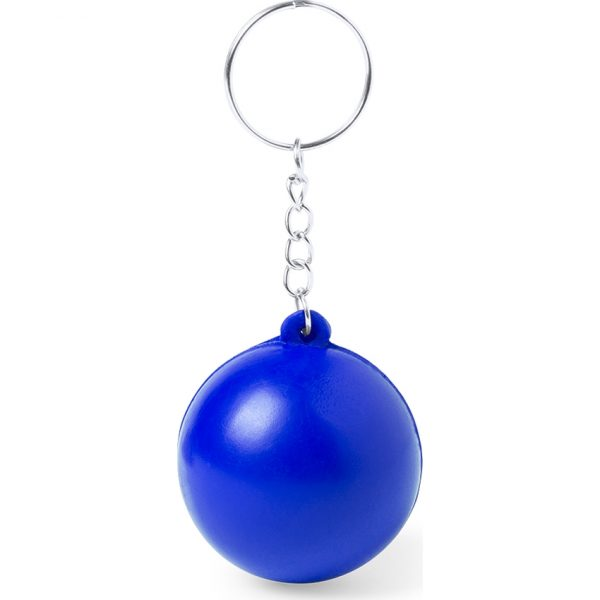 Llavero Antiestrés Lireo Makito - Azul