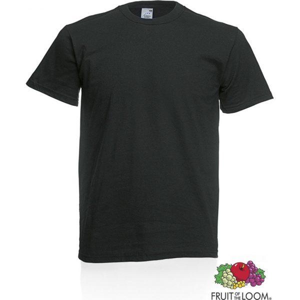 Camiseta Adulto Color Original Makito - Negro