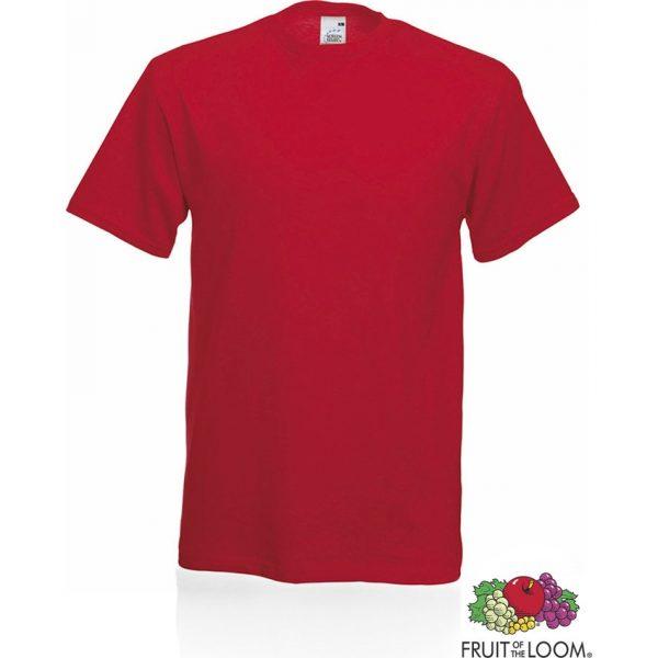 Camiseta Adulto Color Original Makito - Rojo