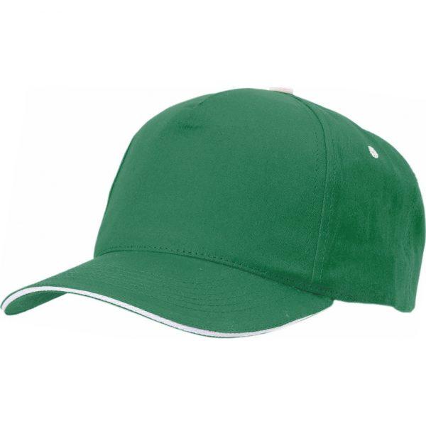 Gorra Five Makito - Verde