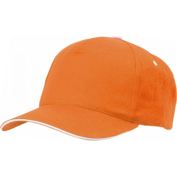 Gorra Five Makito - Naranja