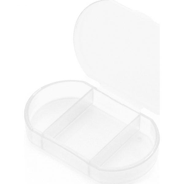 Pastillero Trizone Makito - Transparente