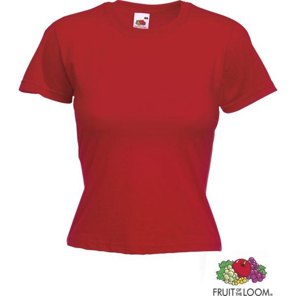 Camiseta Mujer Color Valueweight Makito - Rojo