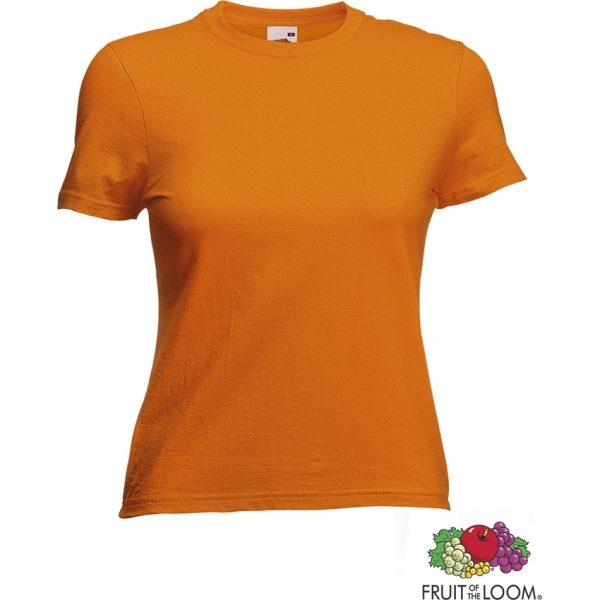 Camiseta Mujer Color Valueweight Makito - Naranja