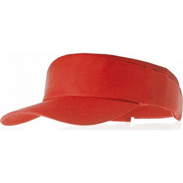 Visera Tiger Makito - Rojo