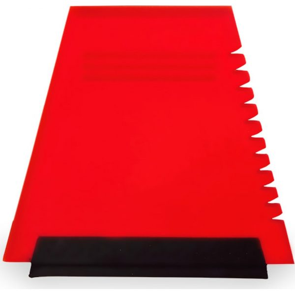 Rascador Hielo Baira Makito - Rojo