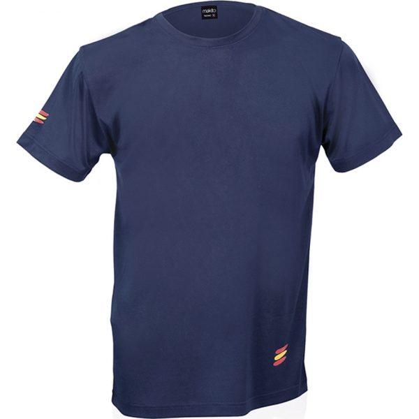 Camiseta Adulto Tecnic Bandera Makito - Marino
