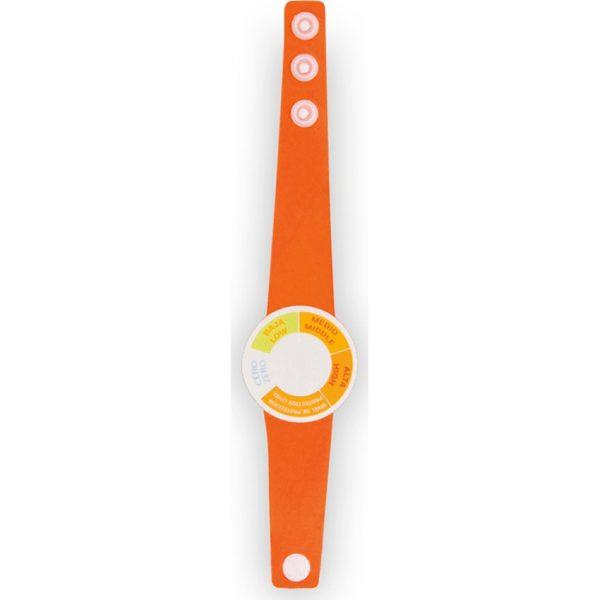 Medidor Rayos UV Rado Makito - Naranja