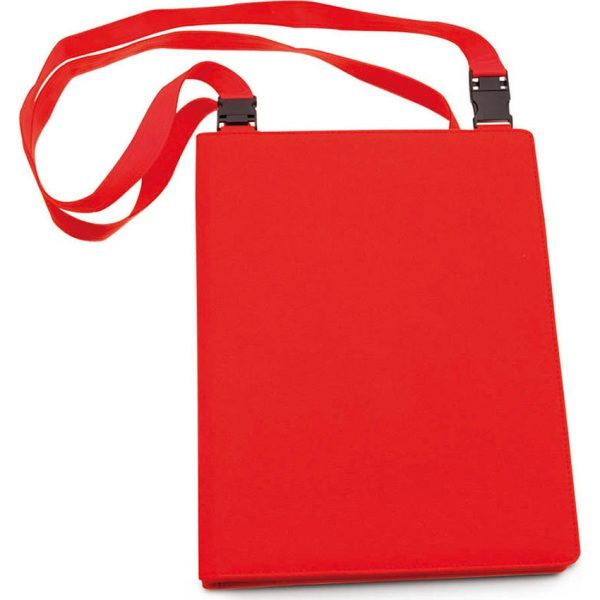 Carpeta Conquer Makito - Rojo