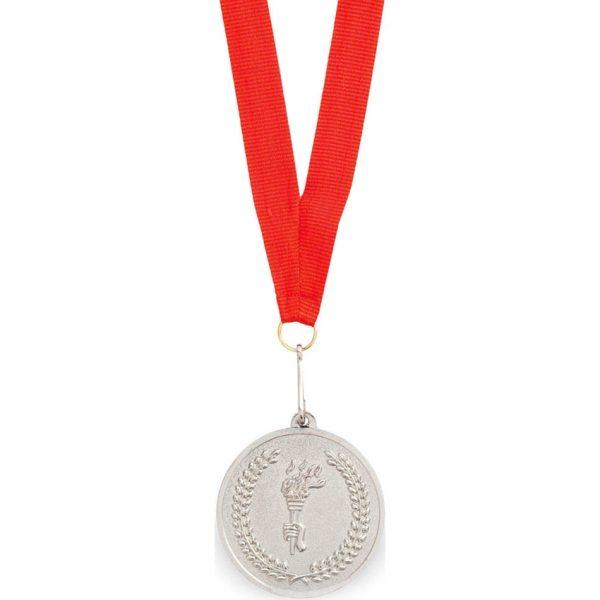 Medalla Corum Makito - Rojo / Plata