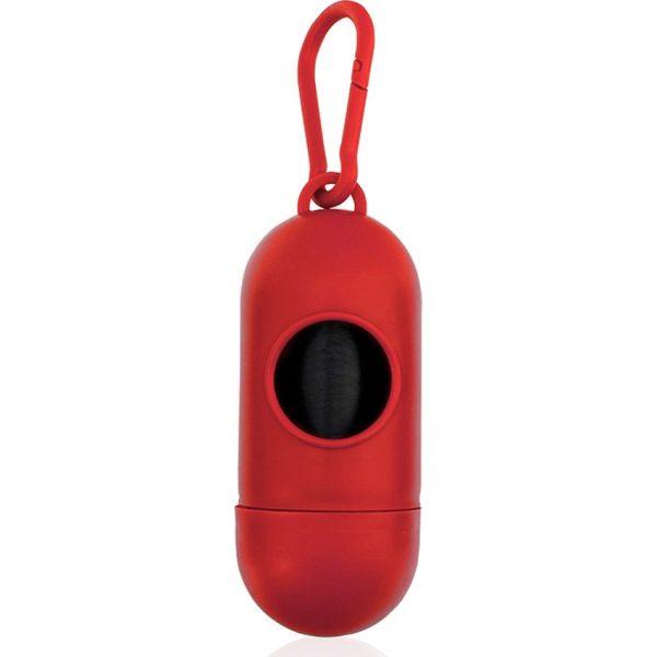 Dispensador Bolsas Yoan Makito - Rojo