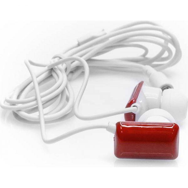 Auriculares Kemet Makito - Rojo