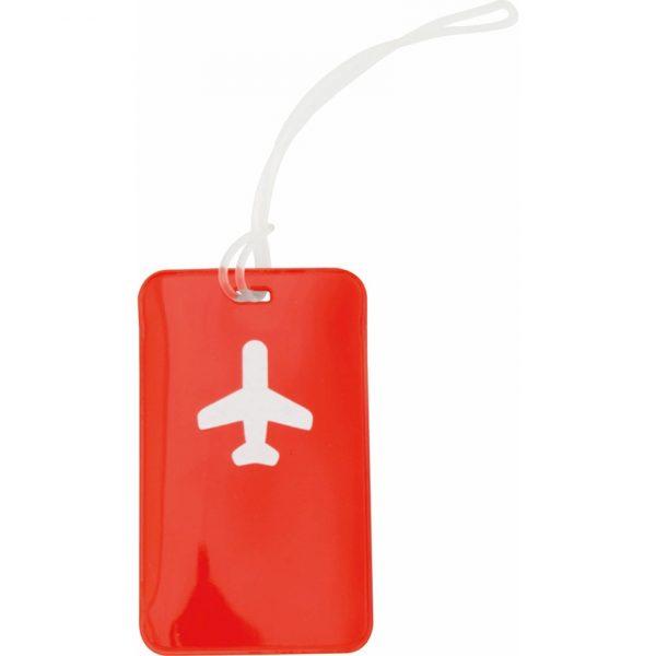Identificador Maletas Raner Makito - Rojo