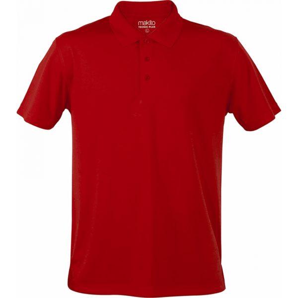 Polo Tecnic Plus Makito - Rojo