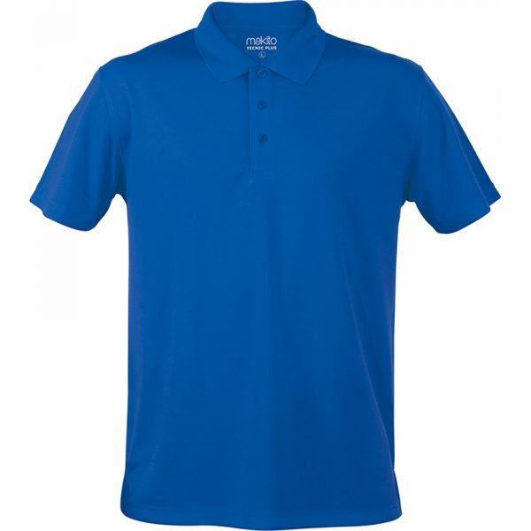 Polo Tecnic Plus Makito - Azul