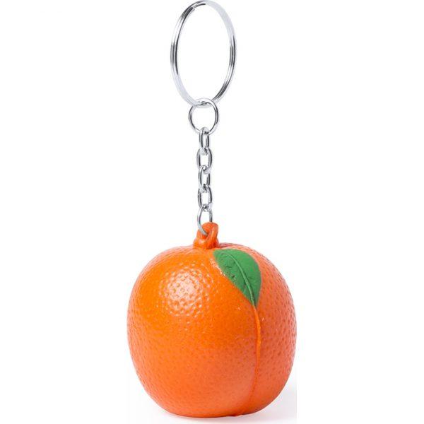 Llavero Antiestrés Fruty Makito - Naranja