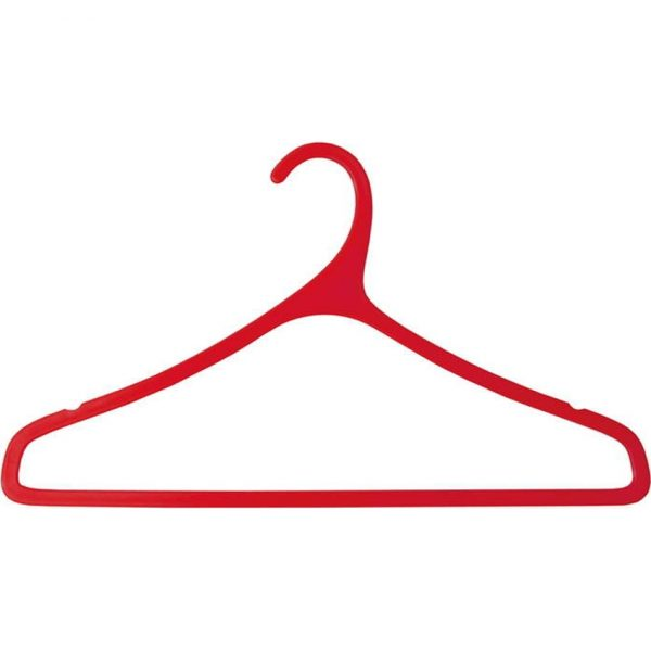 Percha Merchel Makito - Traslucido Rojo
