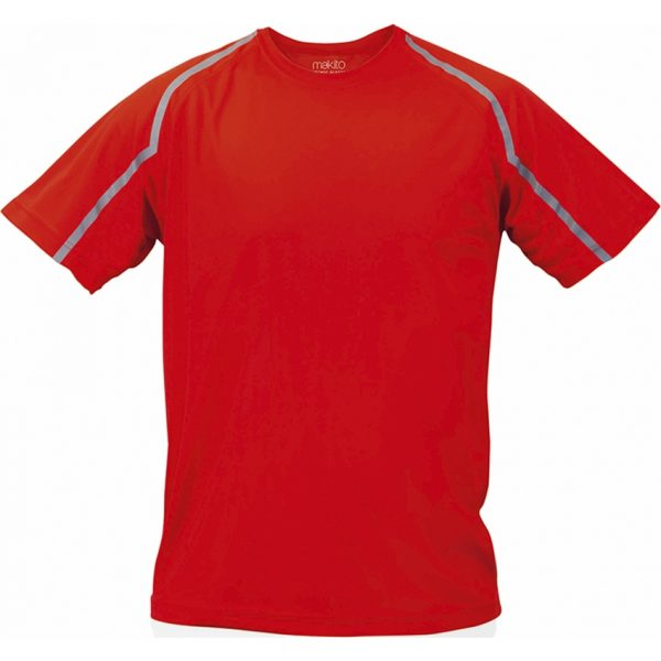 Camiseta Adulto Tecnic Fleser Makito - Rojo